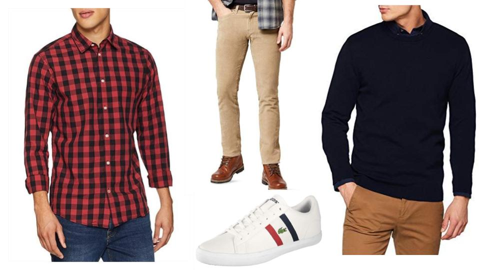 Look Casual Para Hombre Febrero 2019 Red Personal Shoppers
